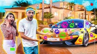 I RUINED His new dream car!!
