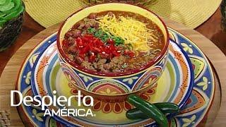 Receta de chile con carne y frijoles rojos del Chef Jesús