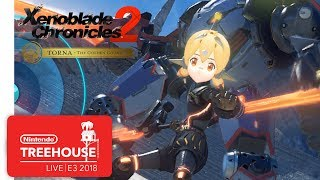 Xenoblade Chronicles 2: Challenge Battle Mode Gameplay - Nintendo Treehouse: Live | E3 2018