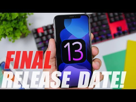 iOS 13 Final Release Date REVEALED !