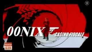 Agentin Merkel als Euro-Bond 00NIX in Casino Fiscale