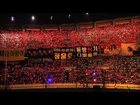 TVXQ dream concert 2008 ( Purple line - Tonight - Rising sun)
