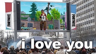 Kid tries to impress Fortnite Crush, then this happened...
