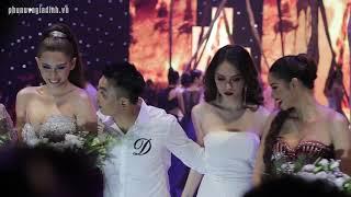 Giải oan nghi án Phạm Hương không cho Hương Giang đứng ngang hàng