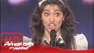 America's Got Talent Auditions Celebrity Impressions - Melissa Villasenor - America's Got Talent Au