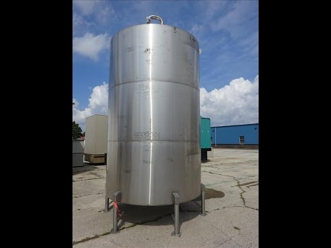 Used- Stainless Steel Metals Inc. Tank, Approximately 4,000 Gallon - stock # 48337001