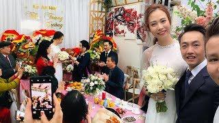 TRỰC TIẾP: Đám hỏi Cường Đô la và Đàm Thu Trang: Mẹ Cường Đô La trao nhẫn KHỦNG cho cô dâu!
