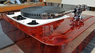 Making a £13000 turntable