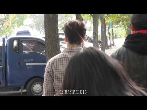 141024 뮤직뱅크 동해 (donghae leaving / arriving )