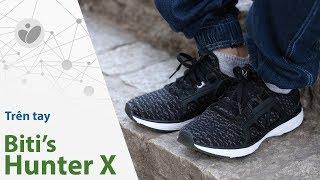 Trên tay Biti's Hunter X: hoàn thiện tốt, cảm giác đi ngon, thiết kế tương đối | Tinhte.vn