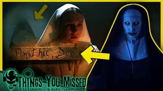 9 Things You Missed In The Nun - Official Teaser Trailer + Full Conjuring Timeline