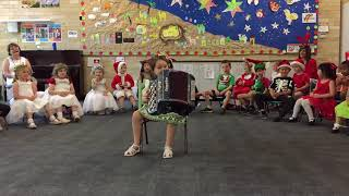 Jingle Bells by Wu Wu Wilma Mormul 4 years old at her 2018 Xmas Concert