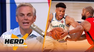 Colin Cowherd chooses the Top 10 Players in the NBA Bubble | NBA | THE HERD