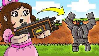 Minecraft: DESTRUCTION SIMULATOR! (BLOW UP STRUCTURES & GET PETS!) Modded Mini-Game