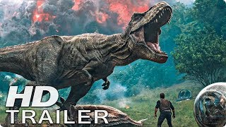 JURASSIC WORLD 2 Trailer German Deutsch (2018)