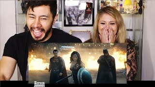 HONEST TRAILERS BATMAN V SUPERMAN reaction by Jaby & Elizabeth Jayne!