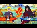 Naruto Ultimate Ninja Storm 3 Full Burst Naruto Sage of Six Paths vs Madara Gameplay (PC)