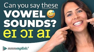 Pronunciation Practice 👄 Difficult Vowel Sounds [DIPHTHONGS]