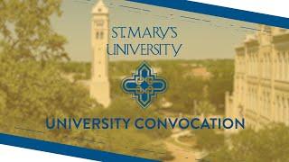 University Convocation Fall 2020