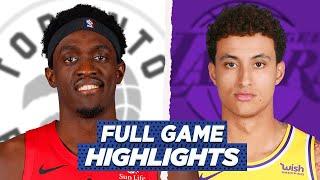 RAPTORS vs LAKERS FULL GAME HIGHLIGHTS | 2021 NBA SEASON
