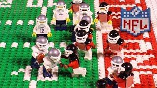NFL Super Bowl LI: New England Patriots vs. Atlanta Falcons   Lego Game Highlights