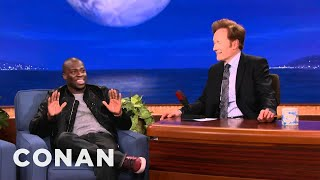 Kevin Hart Pre-Bullies His Own Kids - CONAN on TBS
