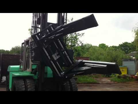 Forklift Truck Rotating Clamp Bendigo Mitchell