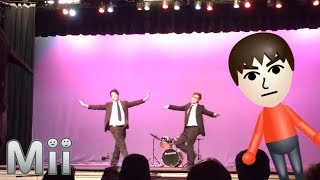 mii channel theme but it's a talent show dance routine