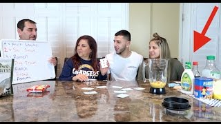 NASTY SMOOTHIE CHALLENGE! (DISGUSTING!)