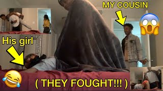 CAUGHT IN THE BED WITH YOUR CRUSH PRANK!!!