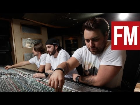 Swedish House Mafia  - The making of 'One' In The Studio With Future Music