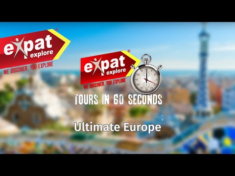 26 day Ultimate Europe Tour (in 60 seconds)