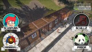 Rust: Team Conquest Tournament - Finals - Main Stream!