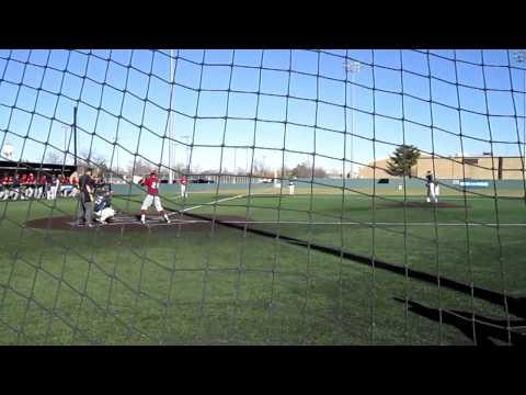 3 pitch strikeout