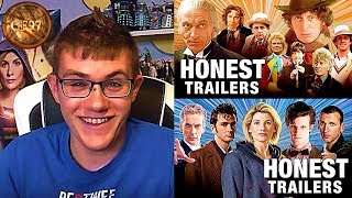 Honest Trailers - Doctor Who (Classic & Modern) REACTION!!!