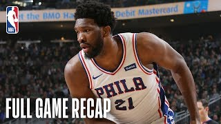 76ERS vs BUCKS | Joel Embiid & Giannis Antetokounmpo Both Have Monster Performances | March 17, 2019