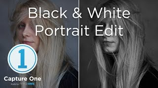 Capture One 12 Tutorials | Black & White Portrait