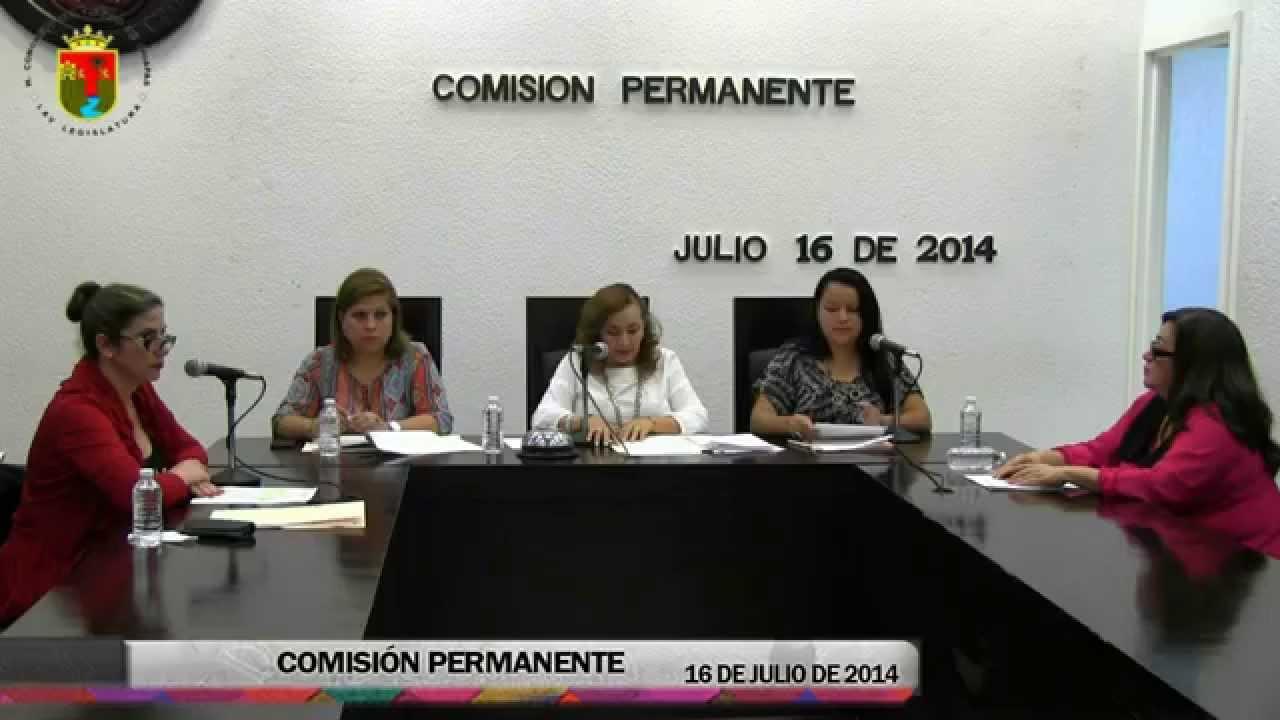 Comisión Permanente 16 de Julio de 2014