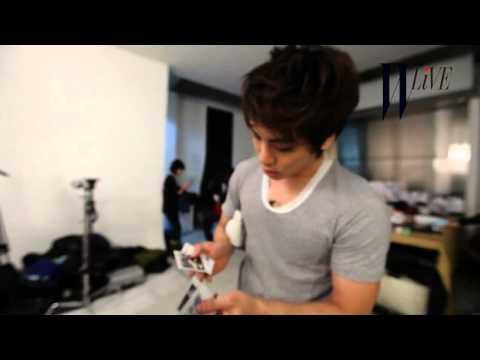 [ENG SUB] 120119 Yummy KIM Jonghyun for W Korea - FULL CUT [HD]