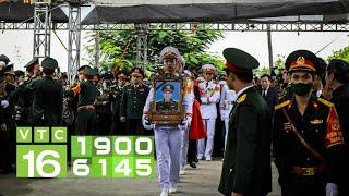 Lễ tang Thiếu tướng Nguyễn Hữu Hùng hi sinh tại Rào Trăng | VTC16