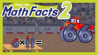 Meet the Math Facts Multiplication & Division Level 2 - 6 x 11 = 66