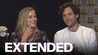 Penn Badgley, Elizabeth Lail Talk 'You' Characters And Social Media | EXTENDED