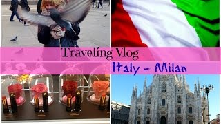 Traveling Vlog: Italy, Milan (sights + beauty haul MAC, Benefit, Moschino, H&M) / Италия, Милан