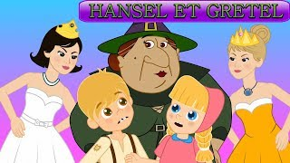 2 CONTES | Hansel et Gretel + Les 12 Princesses  - dessins animés pour Enfants |