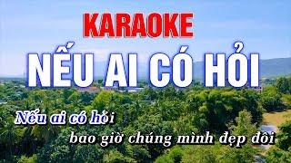 Nếu Ai Có Hỏi Karaoke Beat Chuẩn - Hoàng Dũng Karaoke