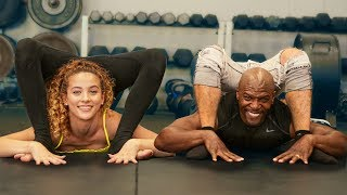 TRANSFORMING TERRY CREWS INTO A CONTORTIONIST
