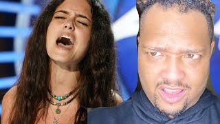 Casey Bishop American Idol Audition REACTION