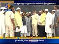 Muslim leaders meet Chandrababu at Amaravati