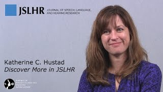 Variability and Diagnostic Accuracy of Speech Intelligibility Scores - with Katie Hustad