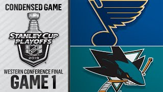 05/11/19 WCF, Gm1: Blues @ Sharks